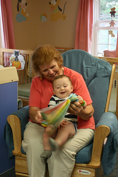 Infant care at Wee Care CDC