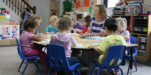 Preschool care at Wee Care