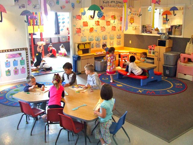 Wee Care preschool room