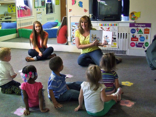 Toddler room at Wee Care CDC