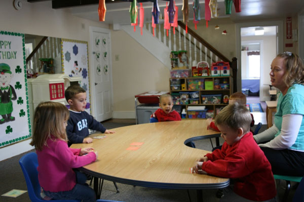 Preschool room at Wee Care CDC