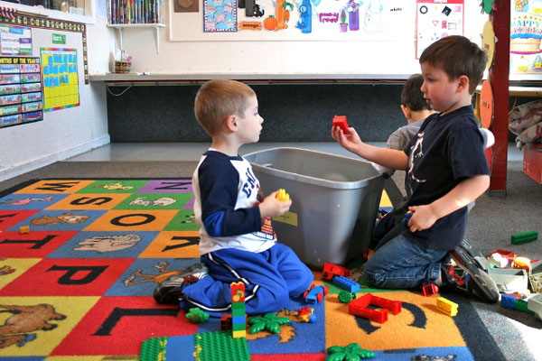 Pre-K room at Wee Care CDC