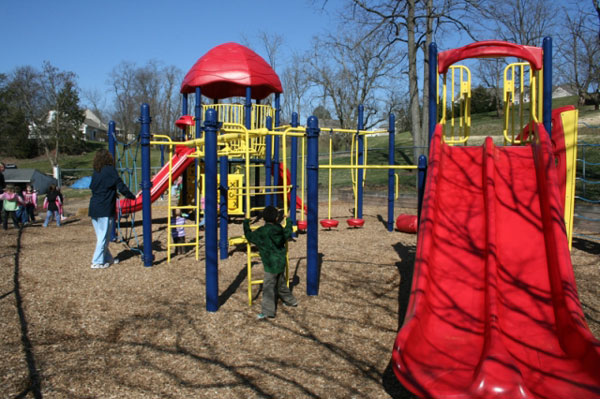 Playground At Wee Care CDC