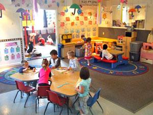 Pre-Kindergarten room