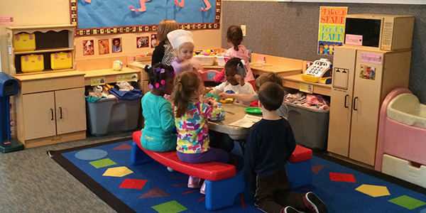 Pre-K classes at Wee Care